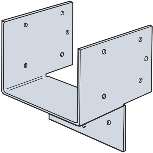 Simpson Strong-Tie 3-1/2 in. W. x 2-13/16 in. L. Galvanized Steel Header Hanger